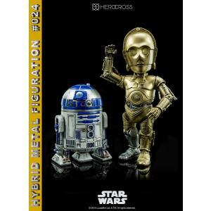 【ハイブリッド・メタル・フィギュレーション】#024 『スター・ウォーズ』 C-3PO & R2-D2|e-sekaiya