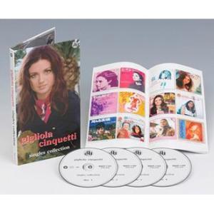 ジリオラ・チンクェッティ Gigliola Cinquetti / シングル・コレクション CD4枚組