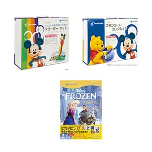 ディズニー・イングリッシュ・コンプリートセット (ミッキーの音声学習ペン付き・スターターキット + スタンダードコレクション + ストーリーブック)|e-sekaiya