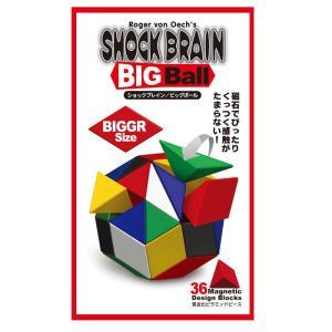 磁石でくっつく!遊んで創造力アップ! SHOCKBRAIN ショックブレイン ビッグボール カラー|e-sekaiya
