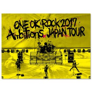 "ONE OK ROCK / LIVE Blu-ray 「ONE OK ROCK 2017 ""Ambitions"" JAPAN TOUR」