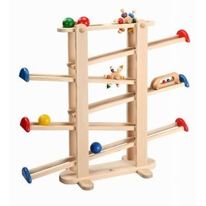 UKK 木製知育玩具 H0706 スロープ・トイ プレジャーガーデン|e-sekaiya