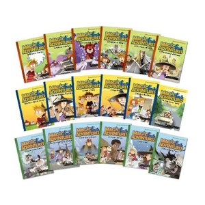 英語学習習得コミックストーリー Magic Adventures Graded Comic Readers Full Set (18冊)|e-sekaiya