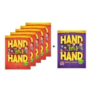 小学生向け総合英語コースブック Hand in Hand Starter Student Book 5冊セット + Free Teacher's Manual|e-sekaiya