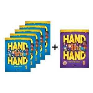 小学生向け総合英語コースブック Hand in Hand 1 Student Book 5冊セット + Free Teacher's Manual|e-sekaiya