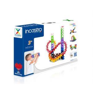イタリア生まれの知育ブロック 「 Incastro ( インカストロ ) 」 BOX200 200ピース入り|e-sekaiya