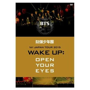 BTS(防弾少年団) / 防弾少年団 1st JAPAN TOUR 2015「WAKE UP:OPEN YOUR EYES」DVD|e-sekaiya