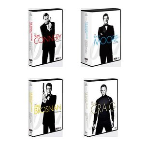 007/ ショーン・コネリー / ロジャー・ムーア / ピアース・ブロスナン / ダニエル・クレイグ DVDコレクション<21枚組> e-sekaiya