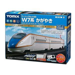 鉄道模型 TOMIX(トミックス) Nゲージ ベーシックセットSD W7系かがやき|e-sekaiya