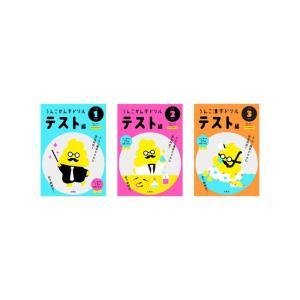 うんこかん字ドリル テスト編 小学 1-3年生 3冊セット|e-sekaiya