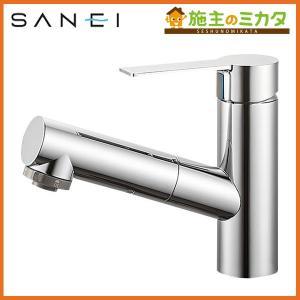 三栄水栓 K37531JK-13 シングルスプレー混合栓 洗髪用 寒冷地用