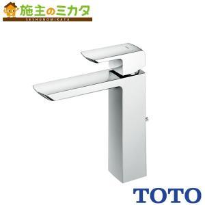 TOTO 洗面所用水栓 TLG02306JA 台付きシングル混合水栓 ワンプッシュなし エコシングル...