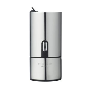 グリーンハウス ビアフォーマー 瓶ビール 専用 超音波式 専用ポーチ 付属 GH-BEERH-SV|e-shop-nishijima