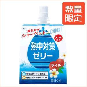 熱中対策ゼリー(ソフトパウチ) ライチ味 1ケース (150g×24個 )【E区分】|e-shop-selection