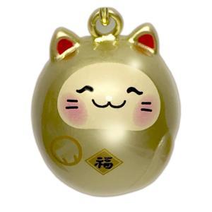 福音鈴  ねこ 猫 黄金色(A区分)|e-shop-selection