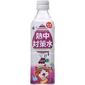 熱中対策水 カロリーゼロ ぶどう味 1ケース (500ml×24本) 【E区分】|e-shop-selection