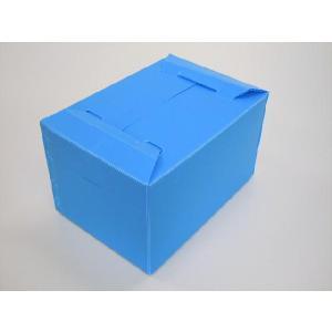 テープ止不要 プラダン ケース A3タイプ ライトブルー 5箱セット