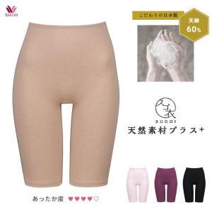 ワコール スゴ衣 天綿 ふわ暖 ひざ上丈ボトム MLサイズ あったかインナー|e-sitagi