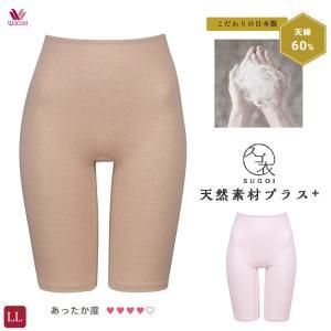 LLサイズ ワコール スゴ衣 天綿 ふわ暖 ひざ上丈ボトム あったかインナー|e-sitagi