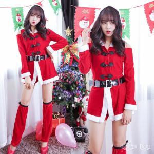 コスプレサンタガール コスチューム大人用 衣装 クリスマス|e-sitagi