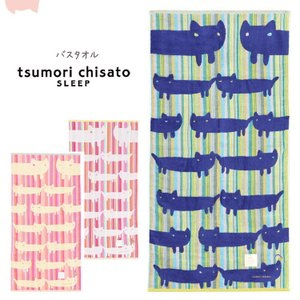 ツモリチサト tsumori chisato レインボーネコ バスタオル|e-sitagi