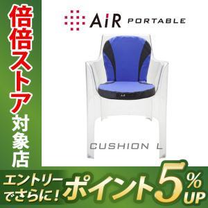 西川エアー AiR ポータブル クッション L ライトグリーン 東京西川 西川産業