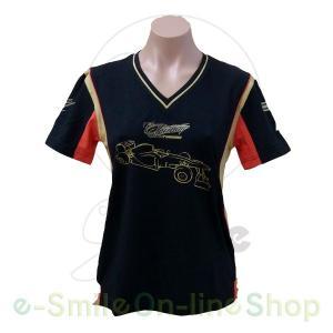 LOTUS F1 TEAM ( ロータス F1 チーム) 2013 キミ・ライコネン  ライフスタイル レディース Tシャツ