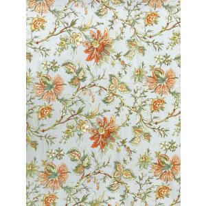 USA輸入生地・インテリアファブリック・カルトナージュ FELICITE  FLOWER P/KAUFMANN|e-son-fabric