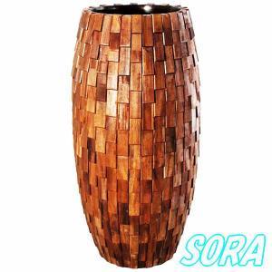 鼓型プランター大(木重) 47*120cm e-sora