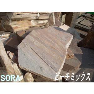 乱形石 ピーチミックス 0.3m2セット|e-sora