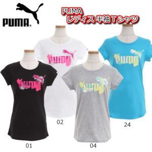 プーマ PUMA レディース グラフィック SS Tシャツ ...