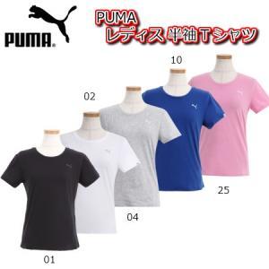 プーマ  レディース エッセンシャルショートスリーブTシャツ 速乾性のあるDry Cell機能を搭載...