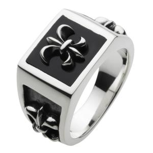 シルバーリング 指輪メンズ オニキス|e-standard