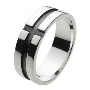 クロスシルバーリング 指輪メンズ ピンキーリング|e-standard