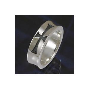 シルバーアクセサリー クロスシルバーリング 指輪メンズ アイアンクロスリング シンプル 指輪シルバー925リング 男性用|e-standard