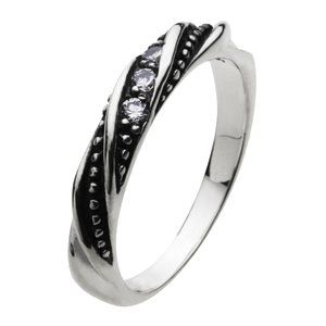 シルバーアクセサリー シルバーアクセ シルバーリング レディース 女性用 指輪 ジルコニア ピンキーリングにもおすすめ|e-standard