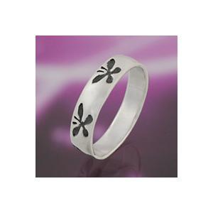 シルバーアクセサリー シルバーアクセ シルバーリング レディース 女性用 指輪 蝶 ピンキーリングにもおすすめ 和風|e-standard