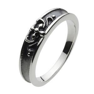 シルバーアクセサリー シルバーアクセ シルバーリング レディース 女性用 指輪 クロス いぶし|e-standard
