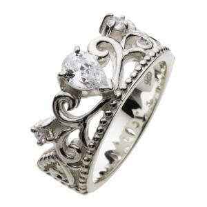 シルバーリング 指輪 レディース クラウン|e-standard