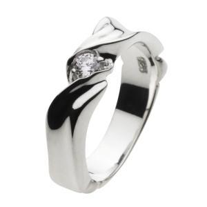 シルバーアクセサリー シルバーアクセ シルバーリング レディース 指輪 ジルコニア|e-standard