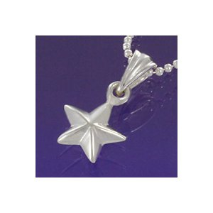 シルバーアクセサリー ネックレス シルバーペンダント ペンダントヘッド レディース 女性用 星 スター|e-standard