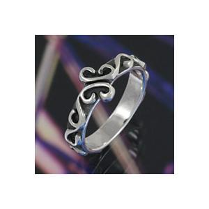 シルバーアクセサリー シルバーアクセ シルバーリング レディース 女性用 指輪 クローバー 四つ葉|e-standard