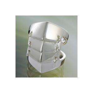シルバーアクセサリー シルバーリング 子供用 キッズ シルバーアーマーリング 指輪|e-standard
