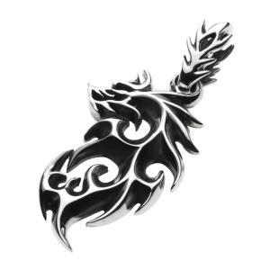 シルバーアクセサリー ペンダント メンズ ドラゴンペンダント|e-standard