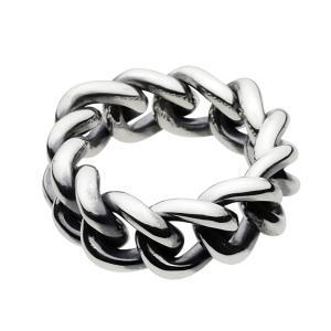 シルバーリング 喜平 キヘイ チェーン 指輪 メンズ シルバー925 シルバーアクセサリー|e-standard