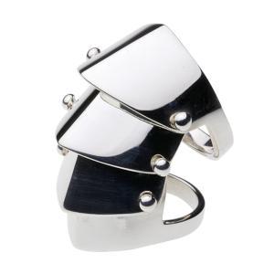 アーマーリング メンズ 指輪 シルバー925 ハード シルバーアクセサリー|e-standard
