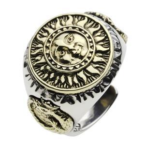 シルバーリング 指輪 メンズ 太陽 メキシカンリング インディアンジュエリー シルバー925 e-standard