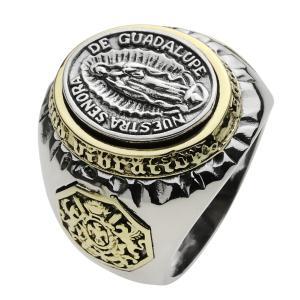メキシカンリング シルバーアクセサリー 指輪 メンズリング 人気 マリア シルバー925 クリスマス プレゼント e-standard