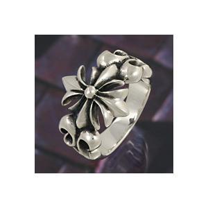 シルバーリング 指輪 メンズ ゴシック クロス 十字架 シルバー925 シルバーアクセサリー|e-standard