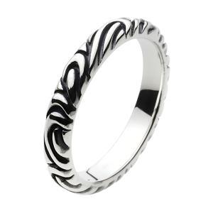 シルバーリング 指輪 アラベスク 唐草 ピンキーリング メンズ シルバーアクセサリー シルバー925|e-standard